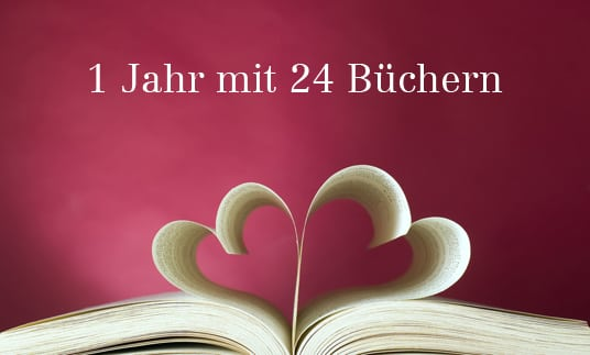 1 Jahr mit 24 Büchern
