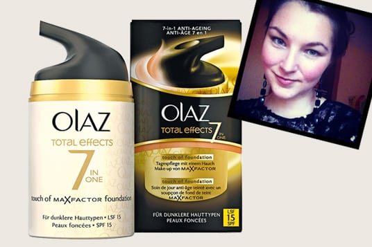 Getestet Olaz Touch of Foundation