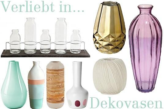 Verliebt in Dekovasen
