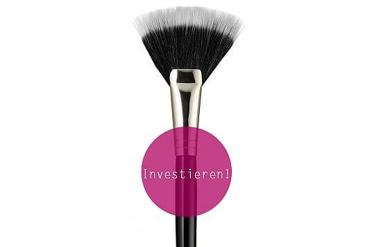Beauty Produkte sparen Pinsel investieren