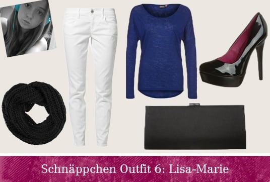 Schnäppchen Outfit Lisa-Marie
