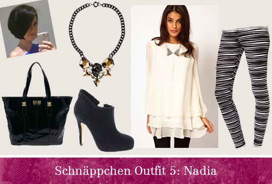 Schnäppchen Outfit Nadia