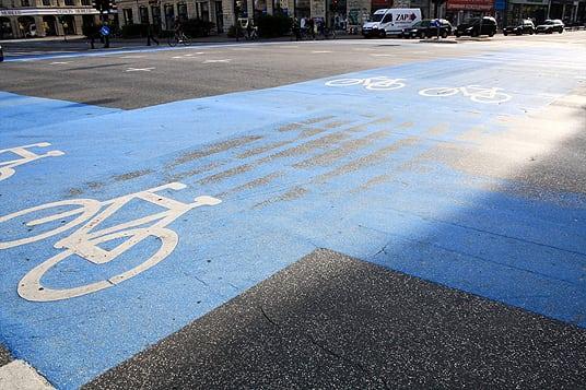 Kopenhagen Fahrradweg