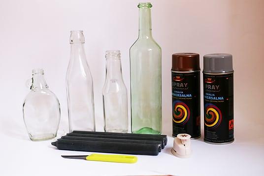 Upcycling DIY Adventskranz Materialien