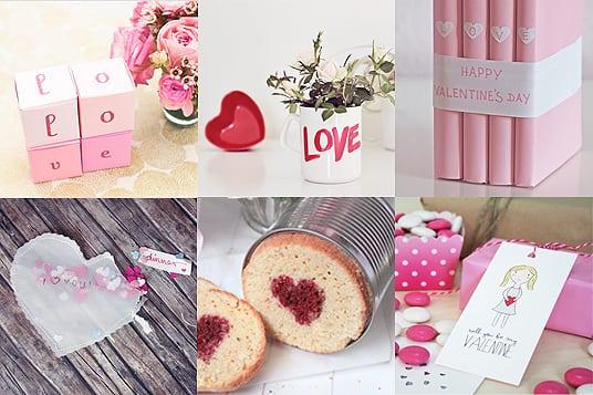 6 DIY Geschenkideen zum Valentinstag