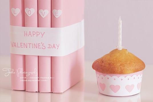 DIY Geschenkideen zum Valentinstag Bücher