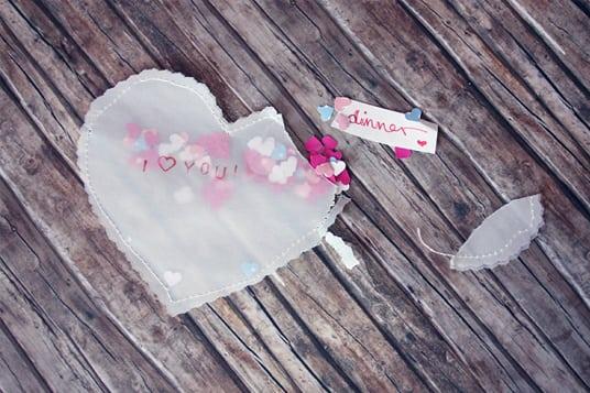 DIY Geschenkideen zum Valentinstag Gutschein