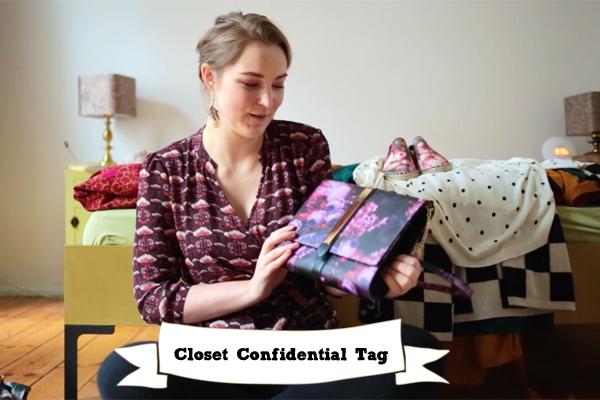 Closet Confidential Tag