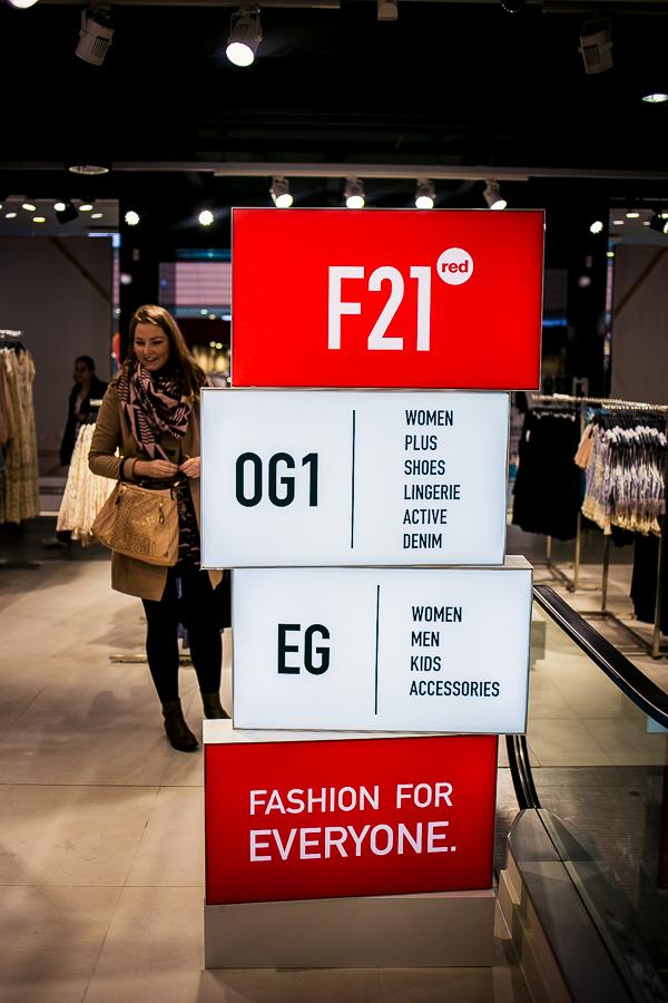 Forever21 RED Potsdamer Platz Berlin