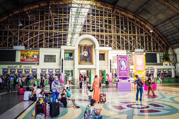 Bahnhof Hua Lamphong Bangkok