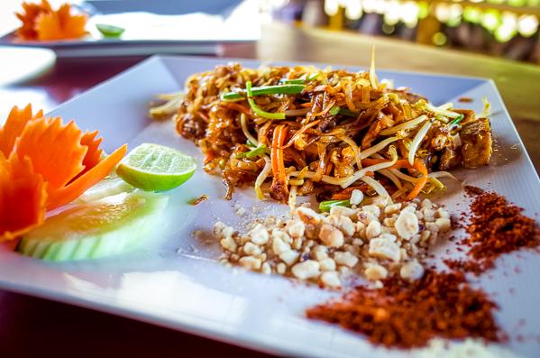 Phad Thai Kochschule Ko Lanta Thailand