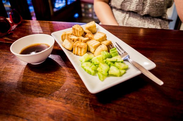 Vegetarisches Essen Thailand