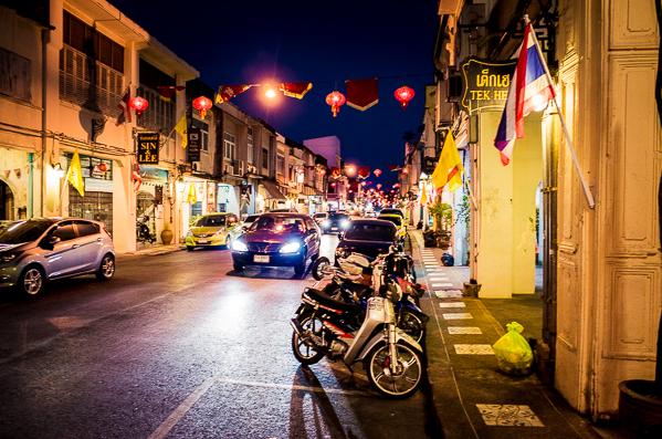 Phuket Town Nacht