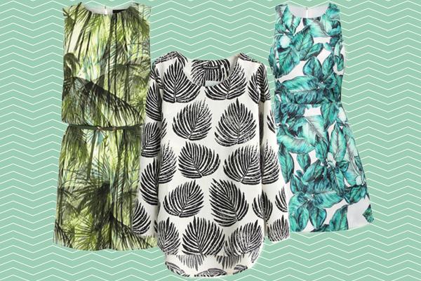 Trend tropische prints