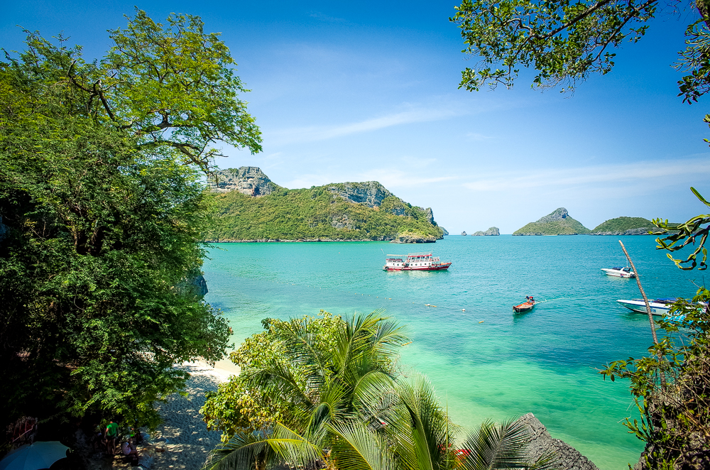 Angthong Nationalpark Thailand Nice Sea Tour