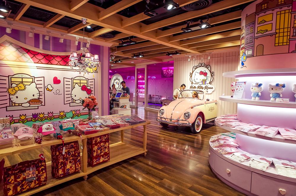 Hello Kitty Shop Bangkok