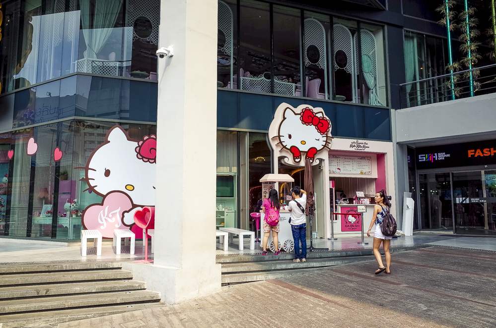 Hello Kitty Shop Bangkok