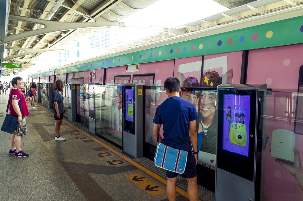 Sky Train Bangkok