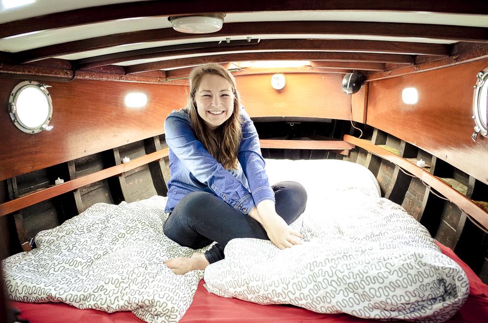 Übernachtung auf dem Boot Hamburg