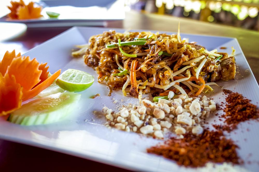 Phad Thai Thailändische Küche